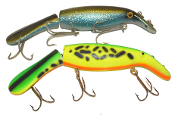 "Famous Believer Walleye, Muskie 10"" Jointed Rattler Lure Set"