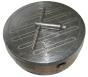 Magnetic Chuck, Round 9 Inch Round, Permanent KMC-23