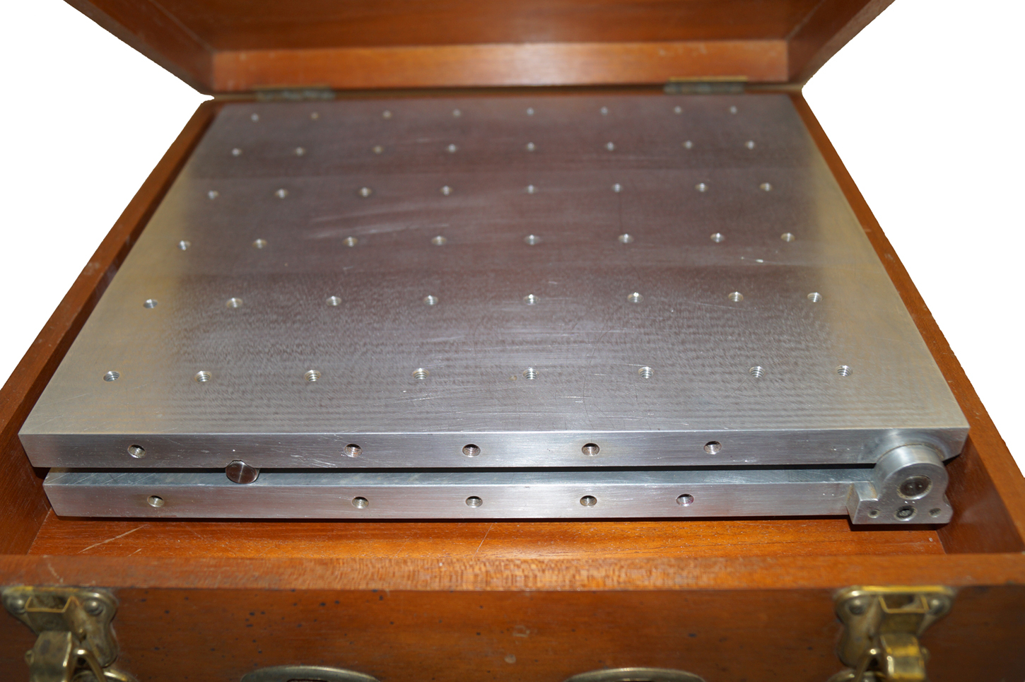 Sine Plate , Aluminum, 14 x 12 w- 0-45 Degree Setting Blocks