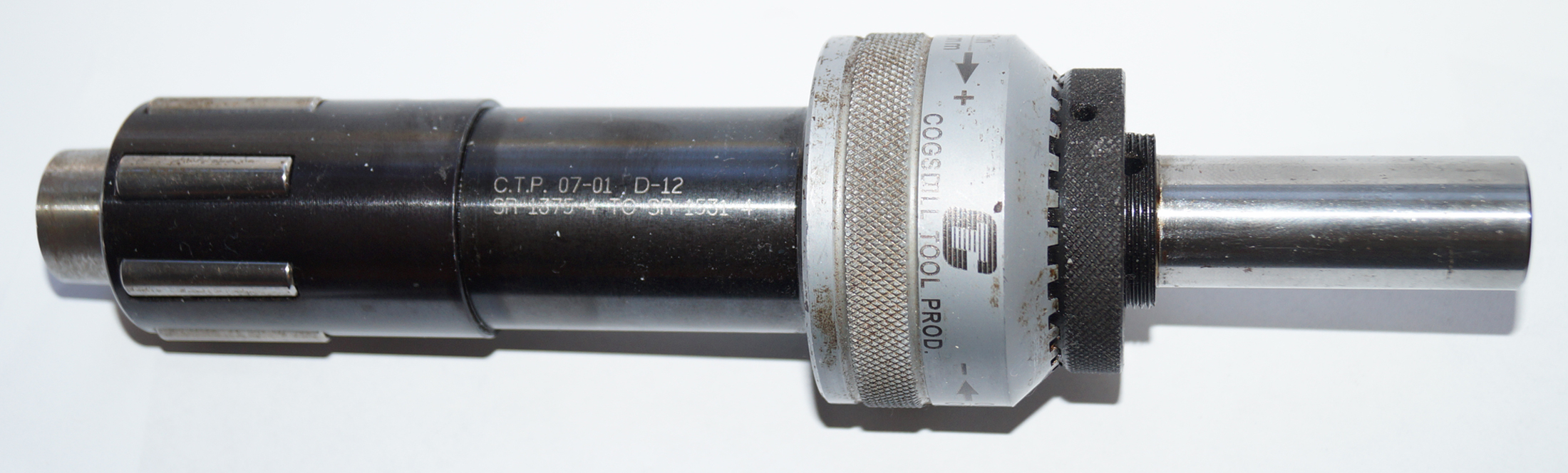 Cogsdill SR-1375 to SR-1531 Burnishing Tool D-12