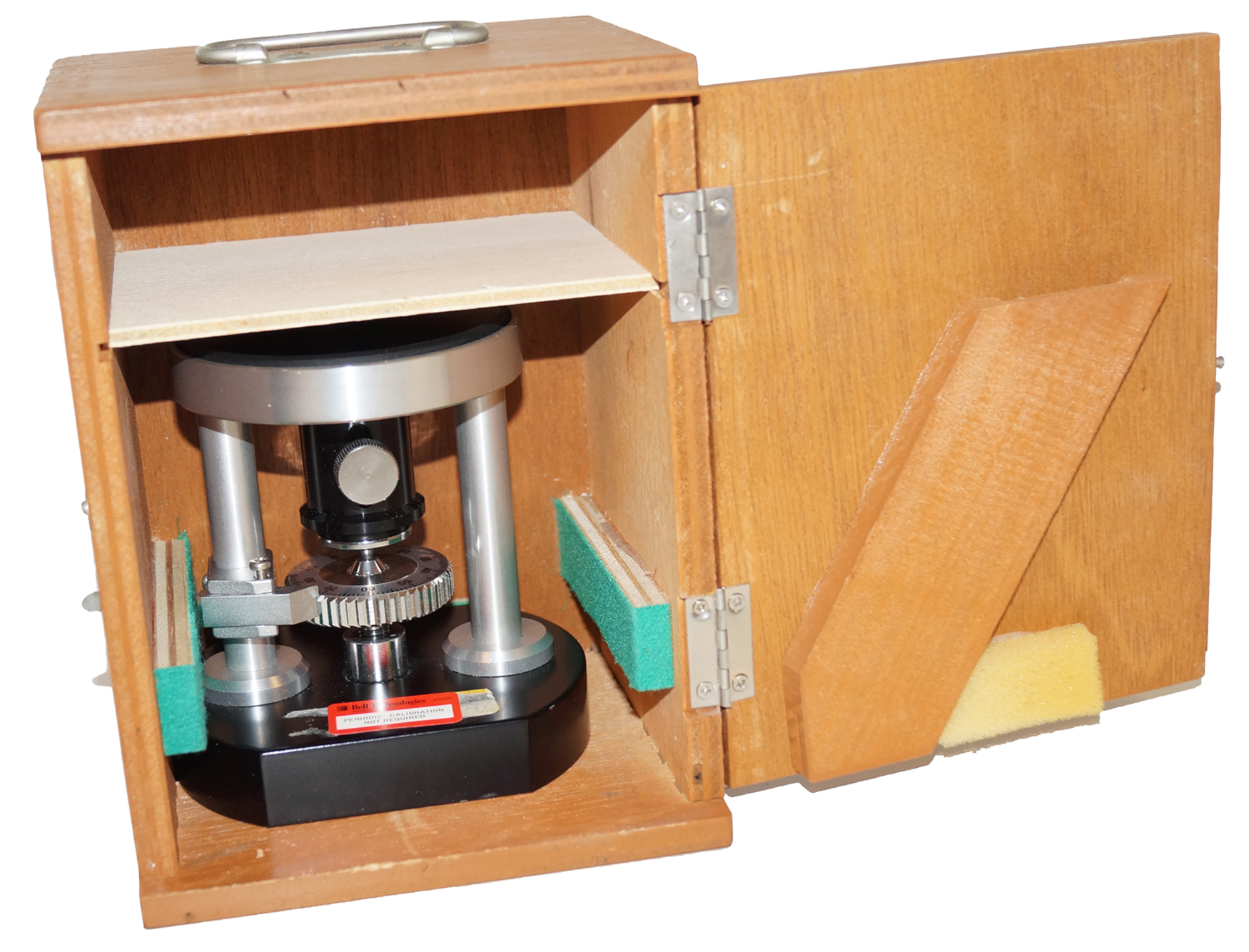 Force Gauge Pull Test Stand, Micrometer Movement