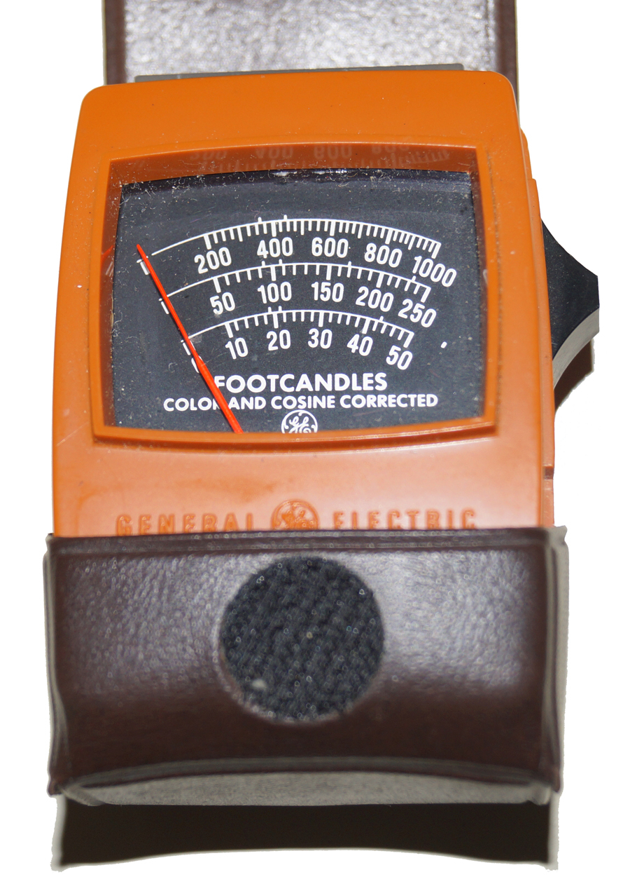 Photometer, GE 214 1000 Foot Candles, Color Corrected