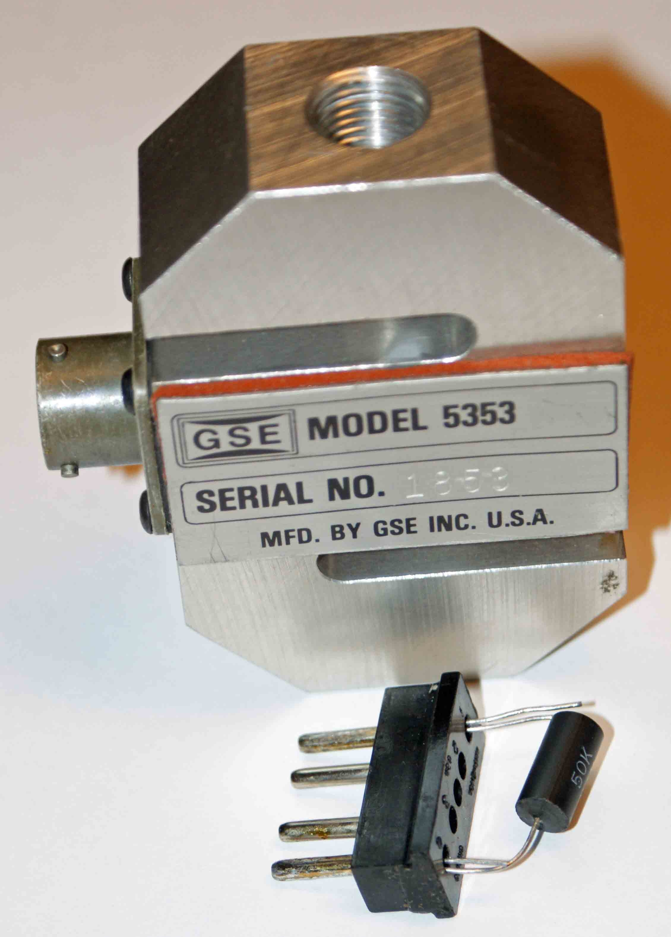 GSE 5353-50K Load Cell Transducer 500 Lb Capacity