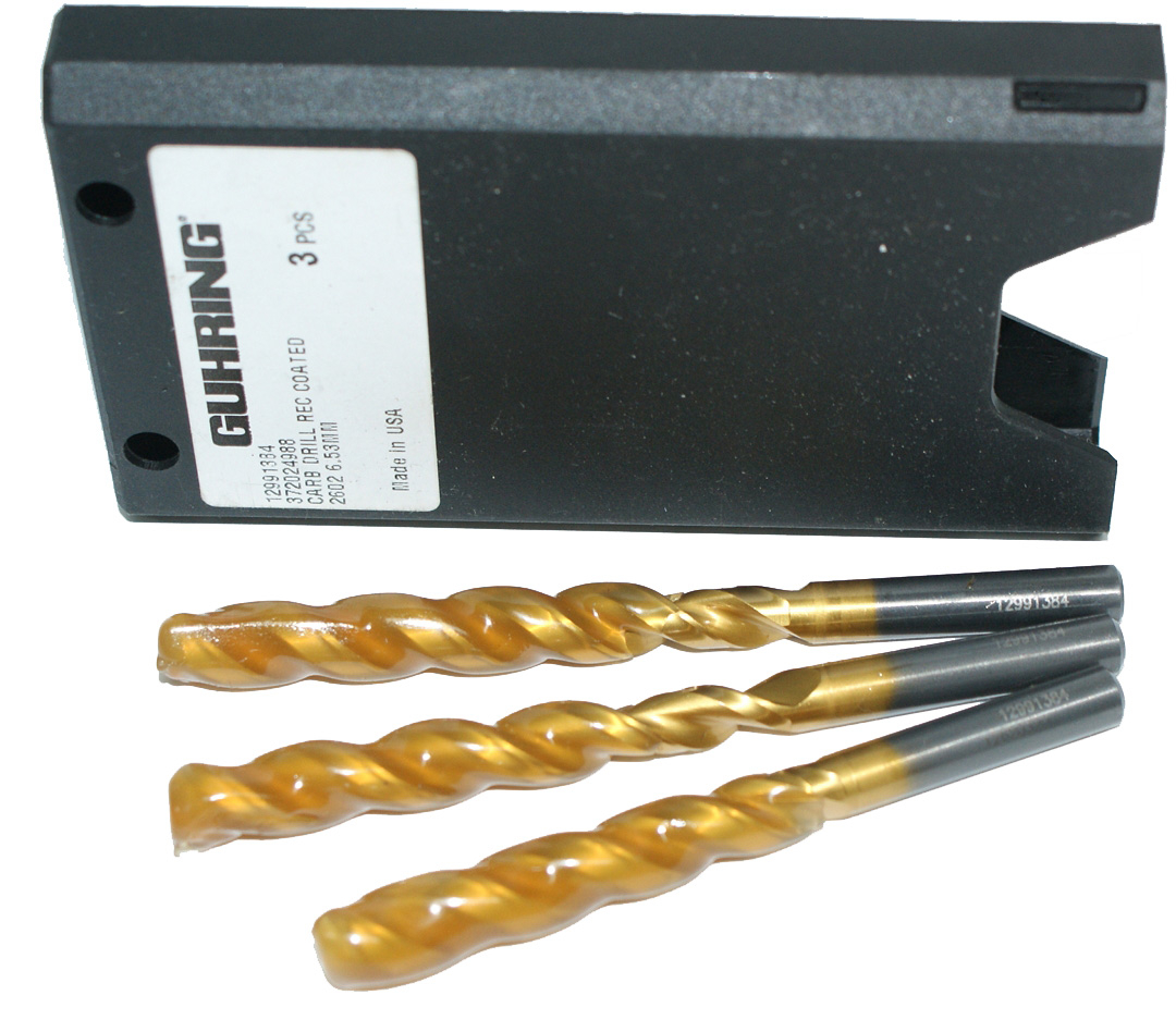 Carbide Drill 6.53mm Guhring 2602