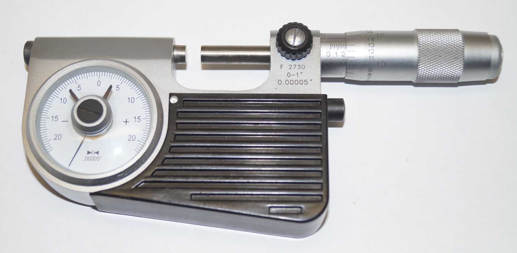 "Indicating Micrometer 0-1"" x 0.00005"" Shars"