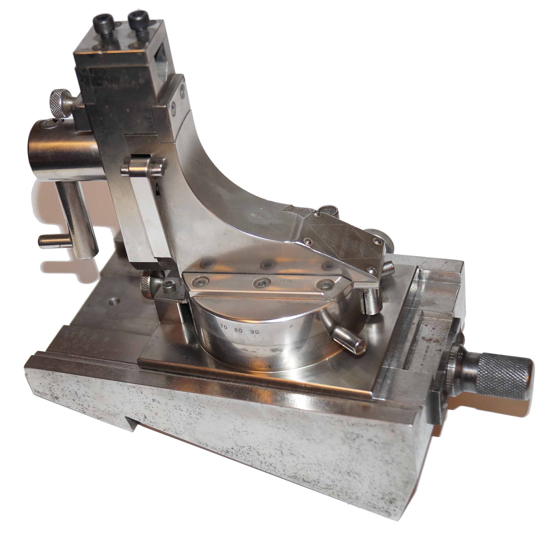 Fluidmotion Grinding Wheel Dresser with solid angle base
