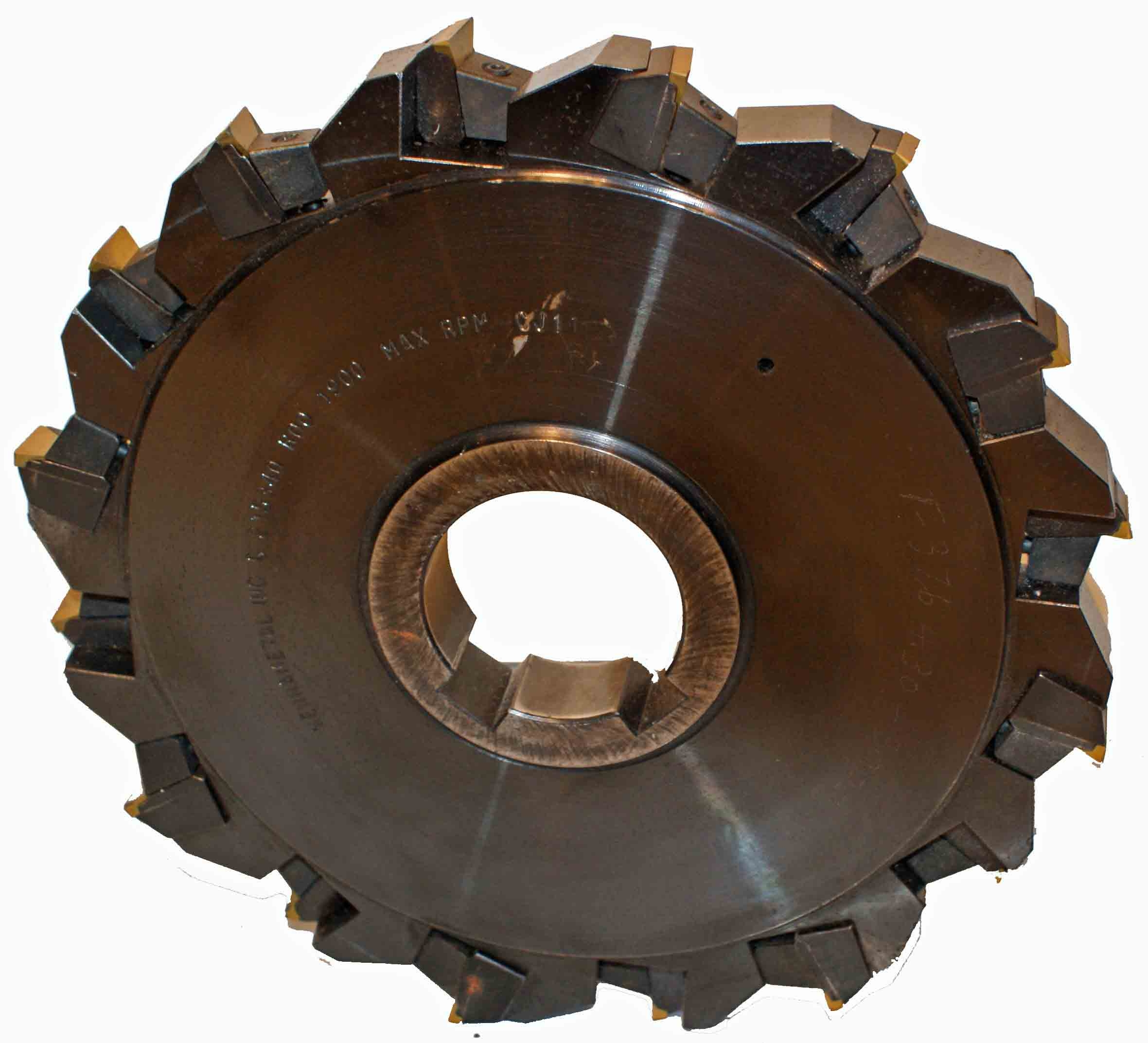 "Kennametal 8"" Slotting Saw - Staggered Tooth"