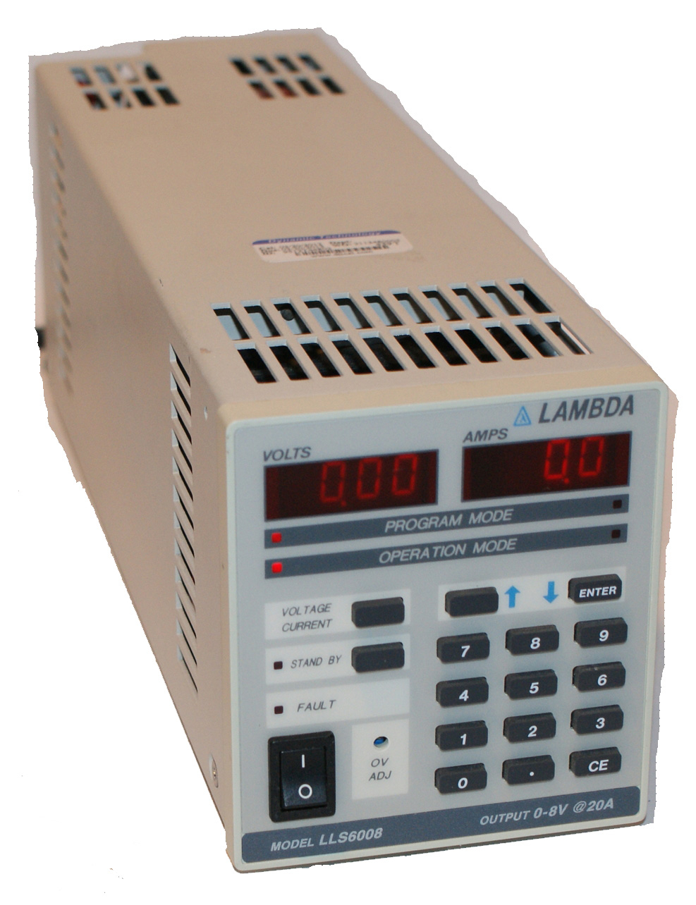 Lambda LLS-6008 Regulated Power Supply