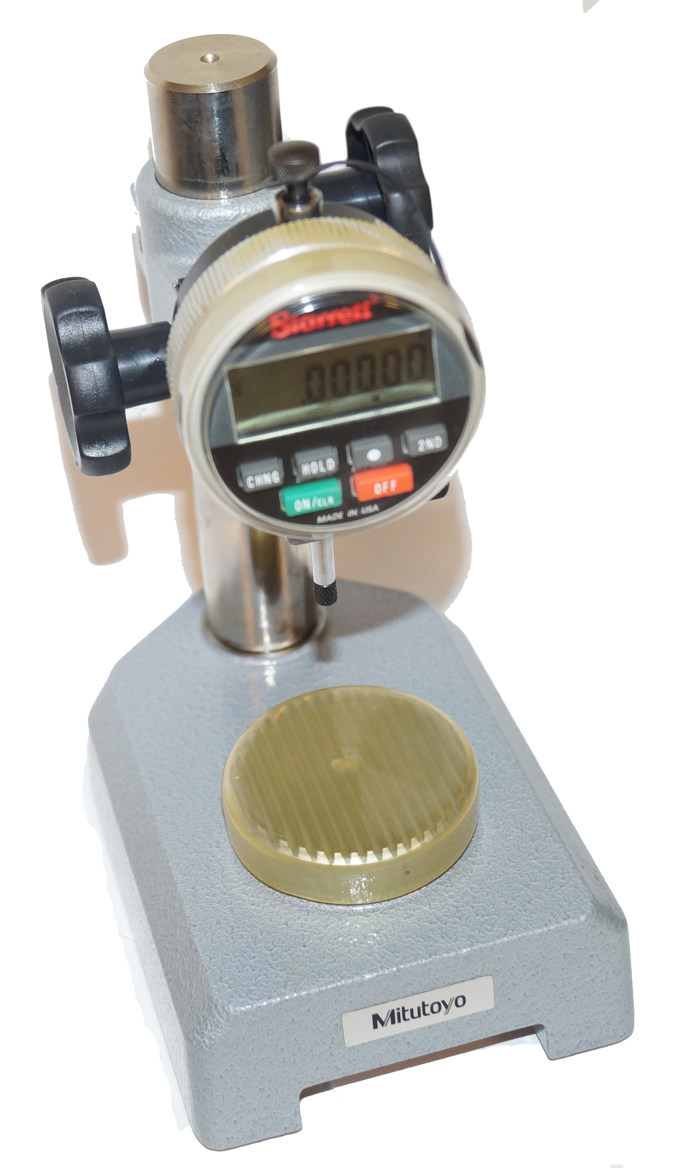 Starrett 0 2 Digital Drop Indicator : Precision indicator and height transfer stands mitutoyo