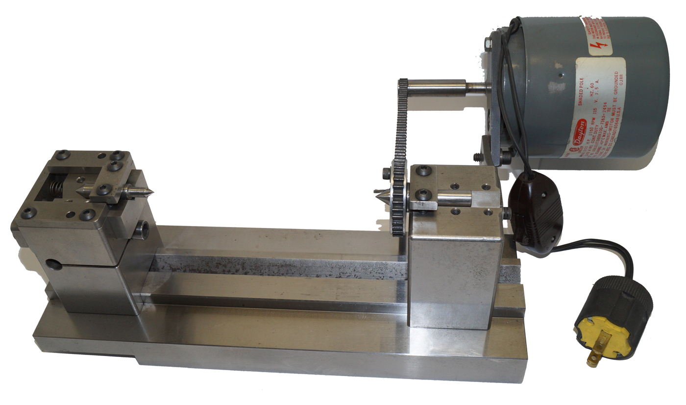Motorized Grinding Center - Spring Tailstock