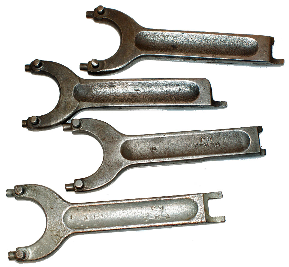 Parker Majestic 2WA Wheel Adapter Spanner Wrench Set