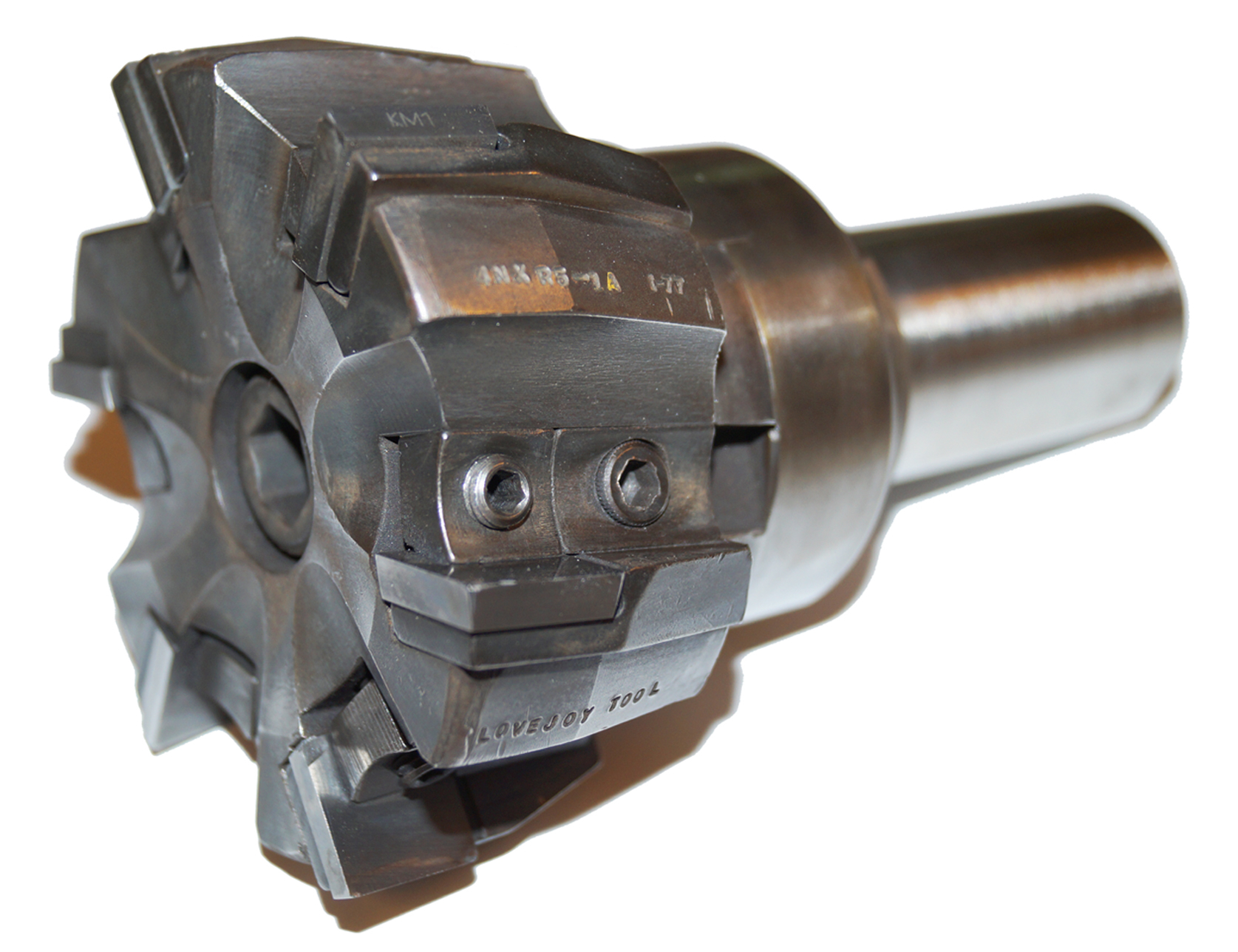 4 Inch Shell Mill with SMH, Lovejoy, Carbide Insert
