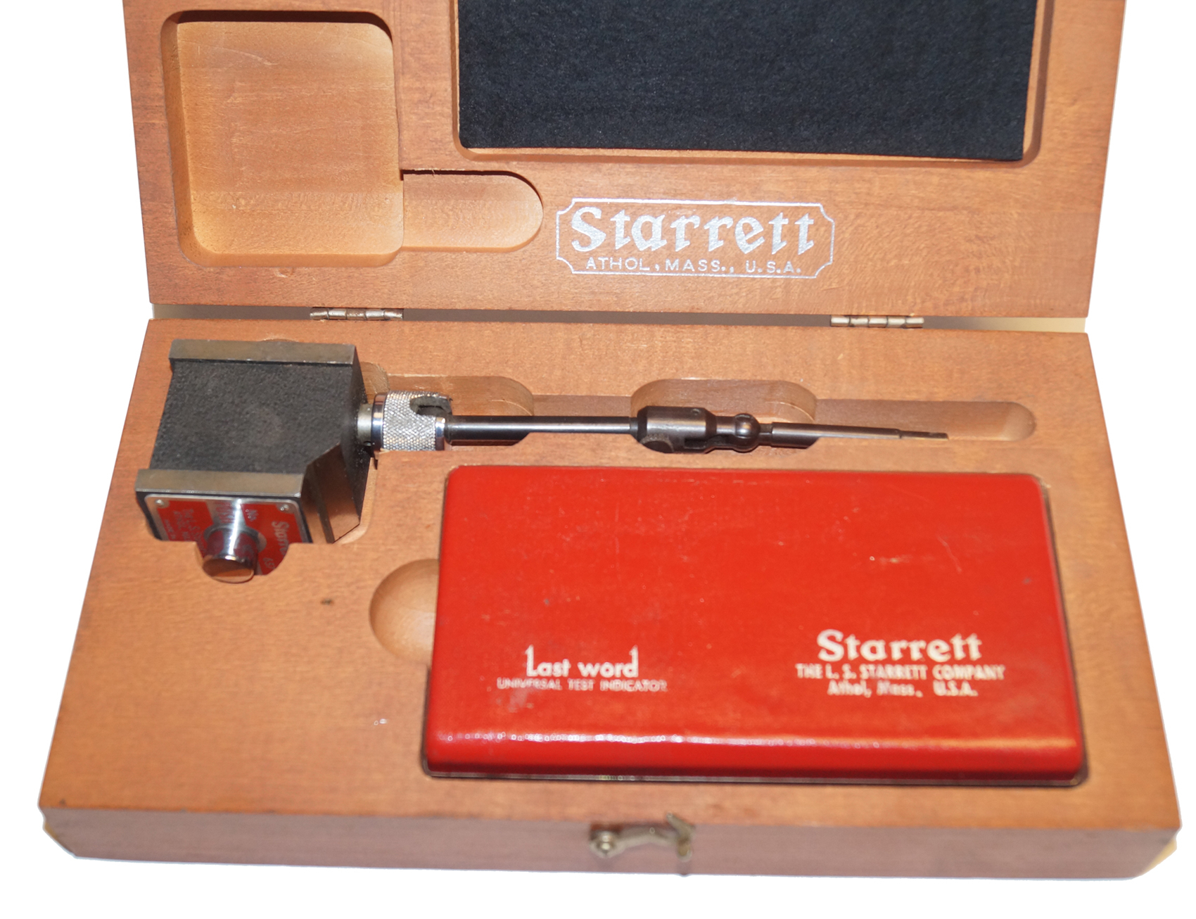 Starrett Test Indicator 711 with Magnetic Base No 657