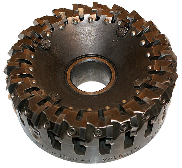 "Valenite Hi-Feed 6"" Face Mill"