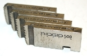 "Ridgid Mono 500 1-1/2""-11 NPT Threading Dies Part 50735"