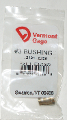 "Vermont Gage .2121-2200"" #3 Bushing / Collet Pin"