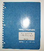Tektronixs FG-501 Function Generator Instruction Manual