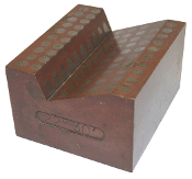 "30 Degree 22 Minutes Magnetic V-Block 3-1/2""x3""x2-1/2"""