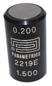 Panametrics Calibration Target, 2219E, 303 Stainless Steel