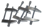 Starrett 161-C Clamp Set of (3), Parallel Toolmakers Clamps