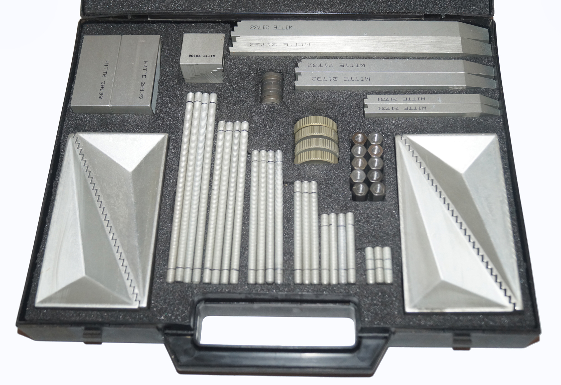 Witte Alu-Clamping Element Set, Machinist Precision Hold-Down Tooling