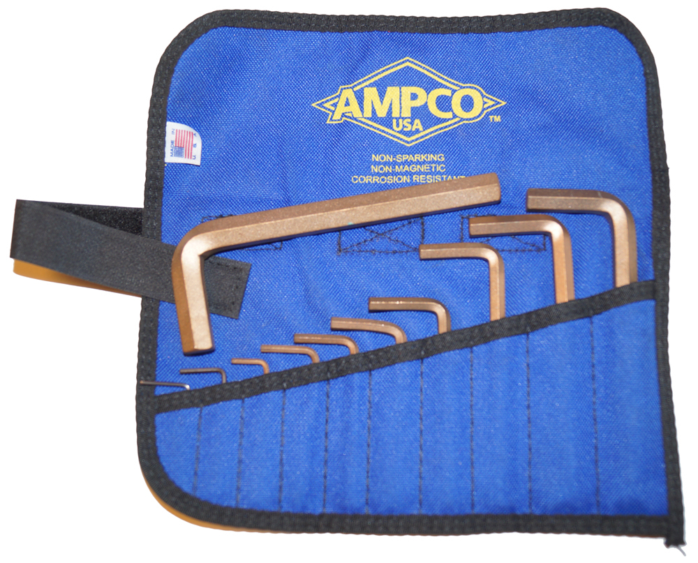 Ampco Hex Key Set M-42 with WH-1/2 Inch