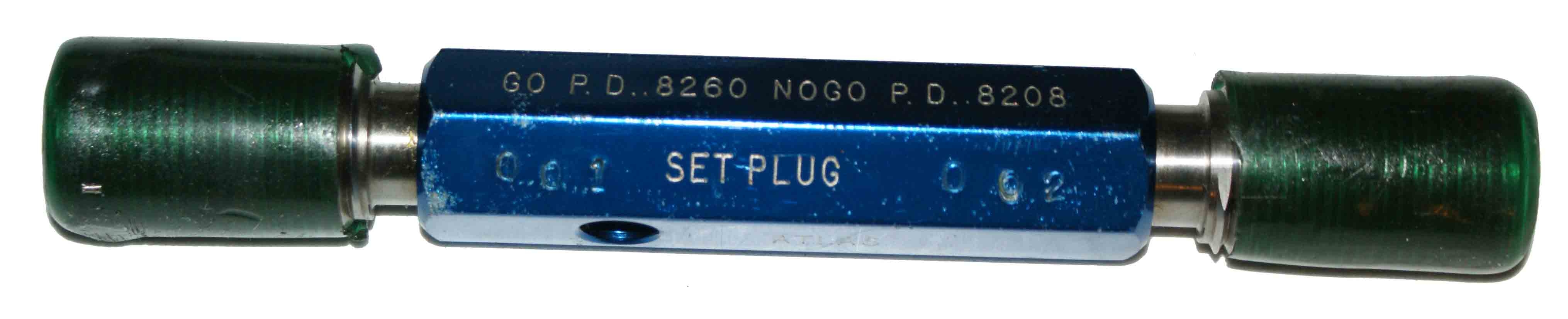 Atlas 7/8-14 NS Thread Set Plug