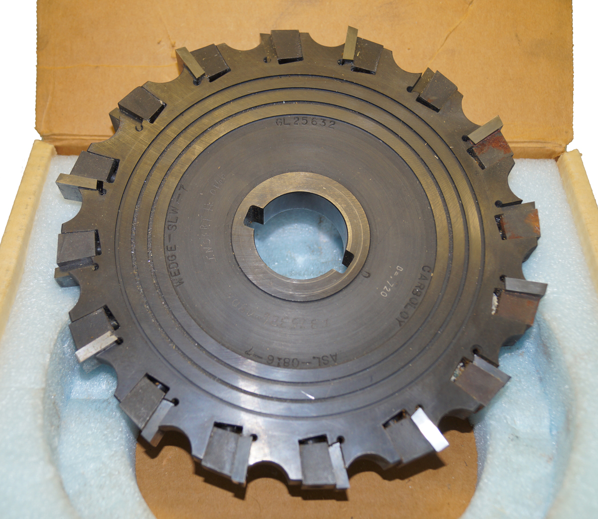 Carboloy SLW-7 Wedge Milling Cutter