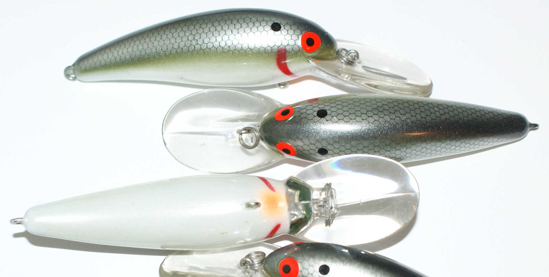 Bomber Deep Diving Lure's (3) Muskie, Walleye, Pike