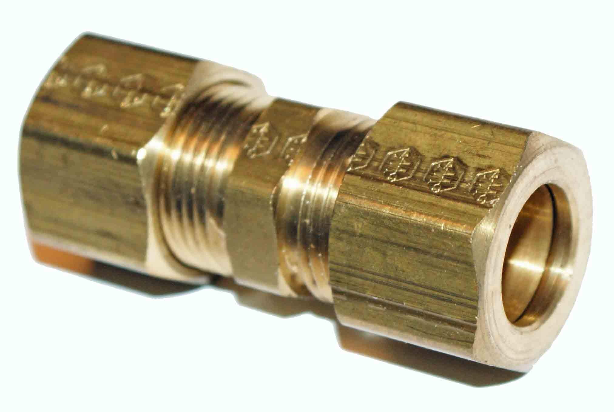Eaton Weatherhead 1/2 Brass Union - Compression