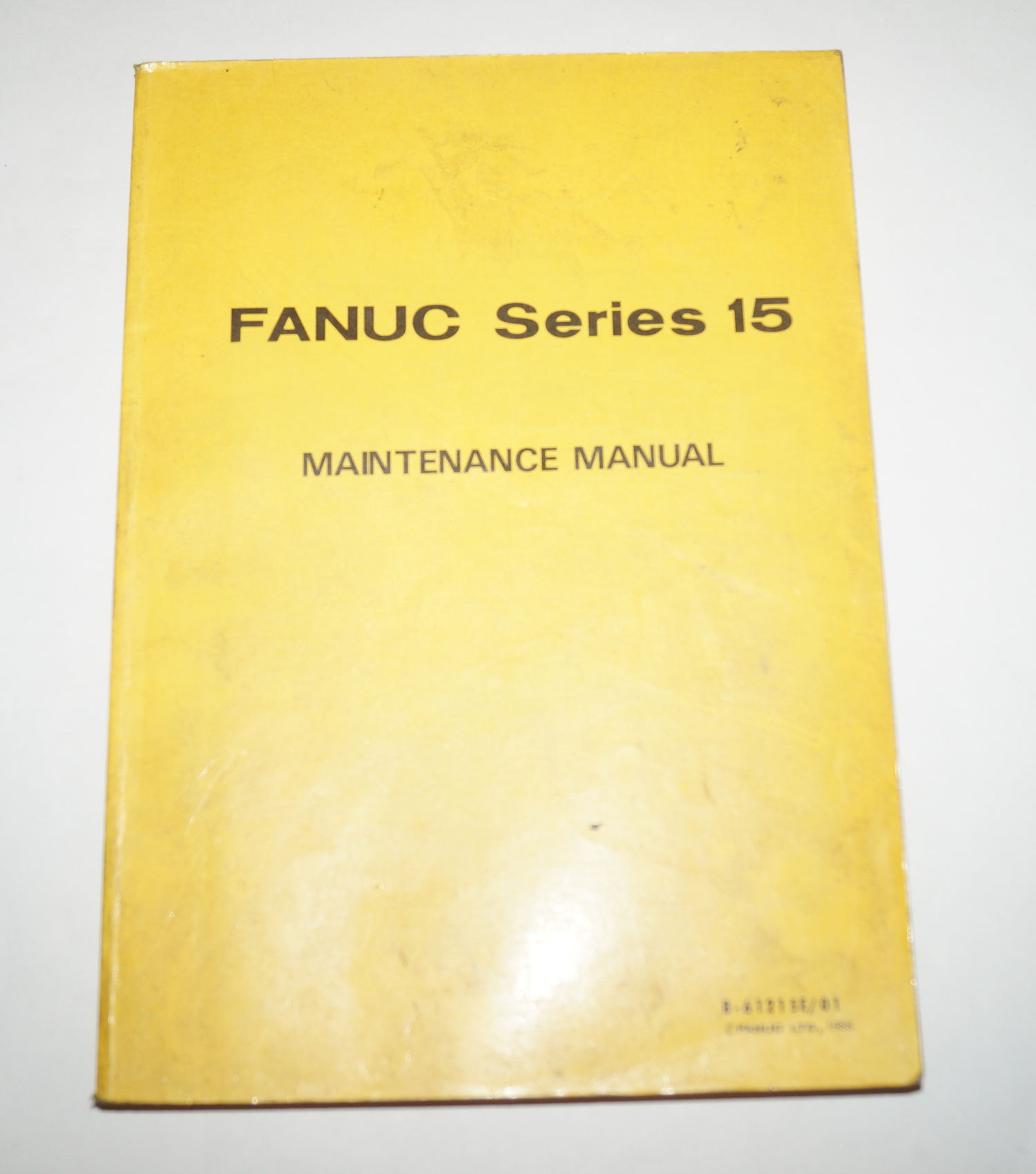 Fanuc AC Series 15 Maintenance Manual B-61215E