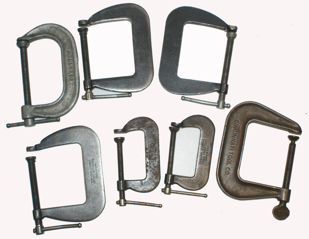 "3"" Forged Steel Clamp Set (7) Pieces"
