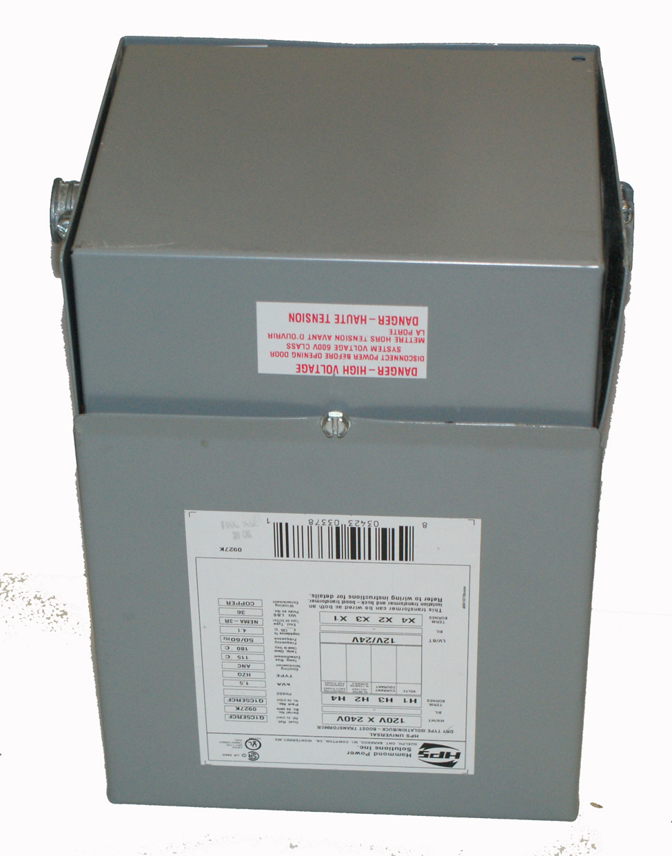 Boost Transformer 1.5 KVA - Hammond Power Systems
