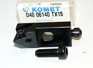 Komet D40 Carbide Insert Cartridge D40-06140 TX15