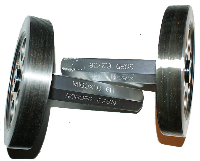 M160 x 1.0 6H Trilock Thread Gage