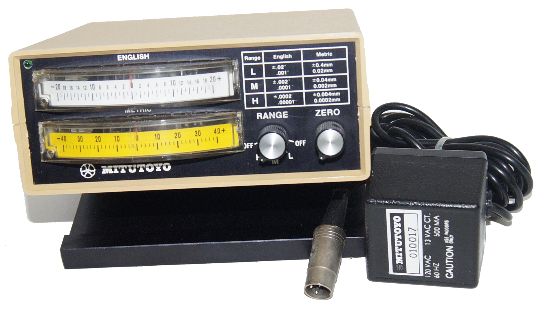 Mitutoyo Indicator Readout English and Metric 519-613