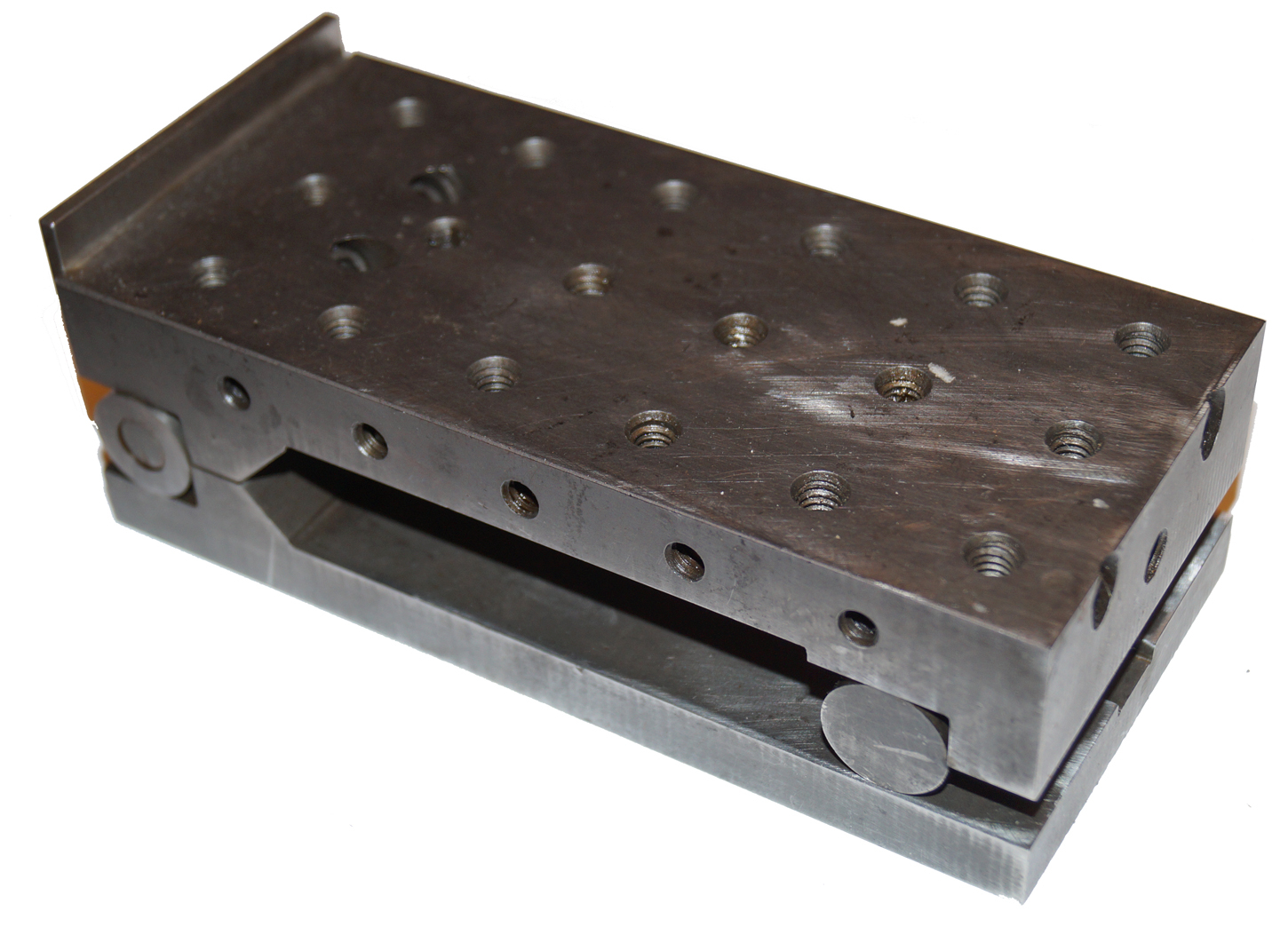 Sine Plate, 6 x 3 with Backplate, Threaded
