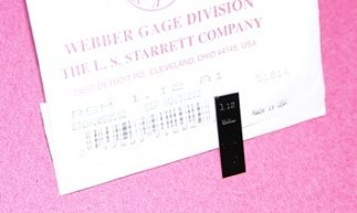 Starrett RSM 1.12 MM A1 Gage Block