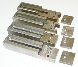 System 3R Stainless Steel EDM Hold Down Set - Tooling