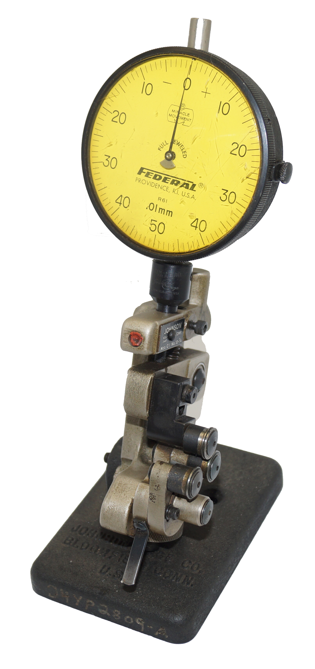 Tri-Roll Thread Gage, Johnson CI 10-3/4 Snap-Roll