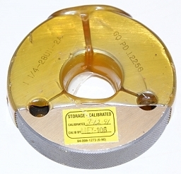 "Thredco 1-1/4"" 28 UN-2A Thread Ring Gage"