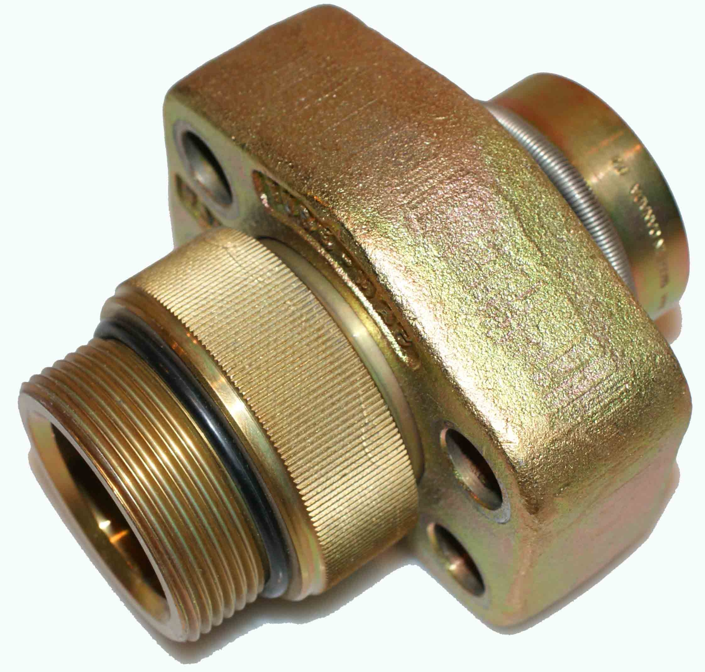 Tube-Mac RFC-64-125 Flange - 4 Bolt 1-1/4""